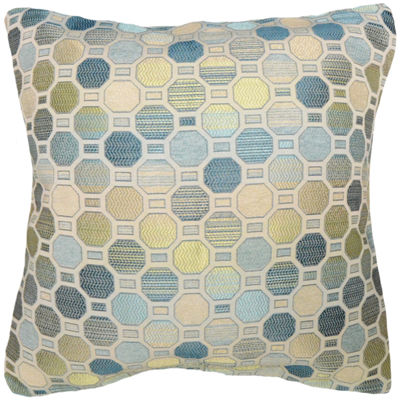 Octagon Jacquard Decorative Pillow