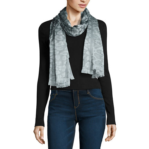 V. Fraas Oblong Animal Scarf