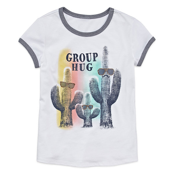 Arizona Girls Short Sleeve Graphic Tee - Girls' 7-16 and Plus