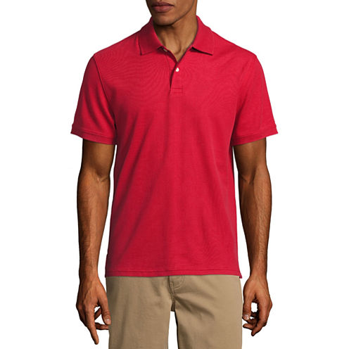 3-Pk. 3 St. Johns Bay Short Sleeve Polo Shirt