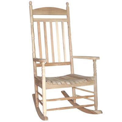 International Concepts Porch Patio Rocking Chair