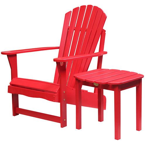 International Concepts Adirondack Chair And Table 2-pc. Patio Lounge Set