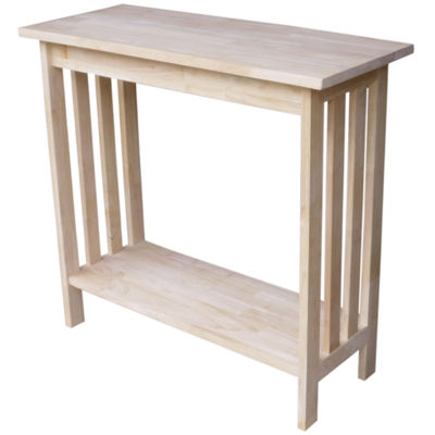 Mission Entry Console Table