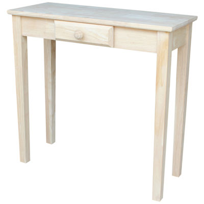 Rectangular Hall 1-Drawer Console Table