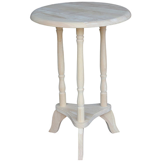 Round Plant Console Table