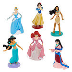 Disney Collection Princess Figurine Playset