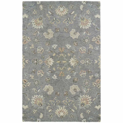 Kaleen Helena Solon Hand-Tufted Wool Rectangular Rug