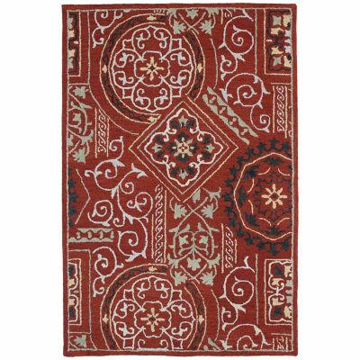 Kaleen Brooklyn Xander Hand-Tufted Wool Rectangular Rug