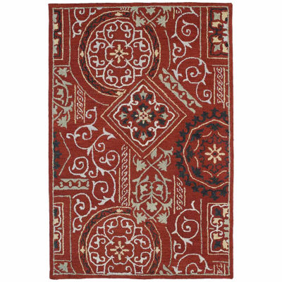 Kaleen Brooklyn Xander Hand-Tufted Wool Rectangular Rug