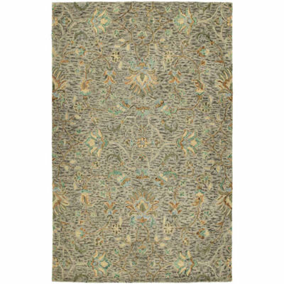 Kaleen Chancellor Ashley Hand-Tufted Wool Rectangular Rug
