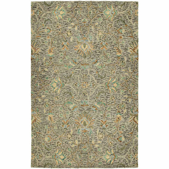 Kaleen Chancellor Ashley Hand-Tufted Wool Rectangular Rug