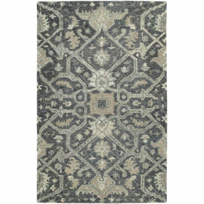 Kaleen Chancellor Emma Hand-Tufted Wool Rectangular Rug