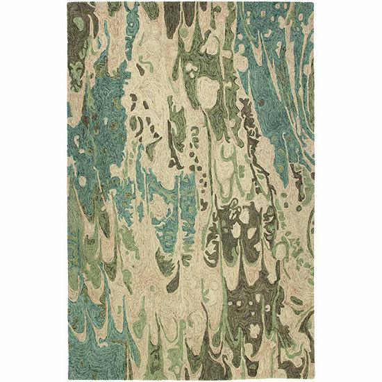 Kaleen Marble Wessley Hand-Tufted Wool Rectangular Rug