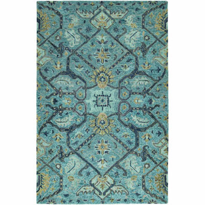 Kaleen Chancellor Emma Hand-Tufted Wool Rectangular Rug