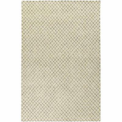 Kaleen Sartorial Crosses  Hand-Tufted Wool Rectangular Rug