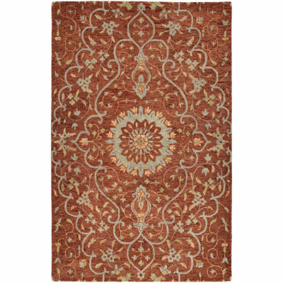 Kaleen Chancellor Tabriz Hand-Tufted Wool Rectangular Rug