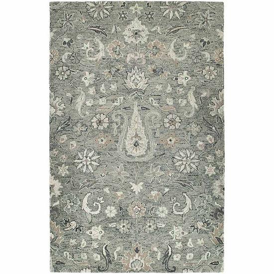Kaleen Chancellor Ziegler Hand-Tufted Wool Rectangular Rug