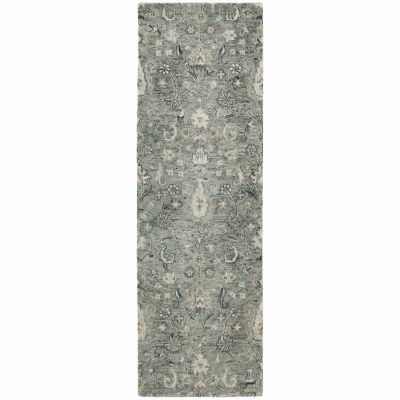 Kaleen Chancellor Ziegler Hand-Tufted Wool Rectangular Rug