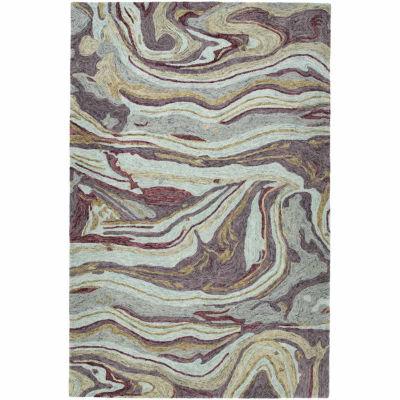 Kaleen Marble Jaden Hand-Tufted Wool Rectangular Rug