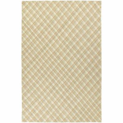 Kaleen Sartorial Plaid Hand-Tufted Wool Rectangular Rug
