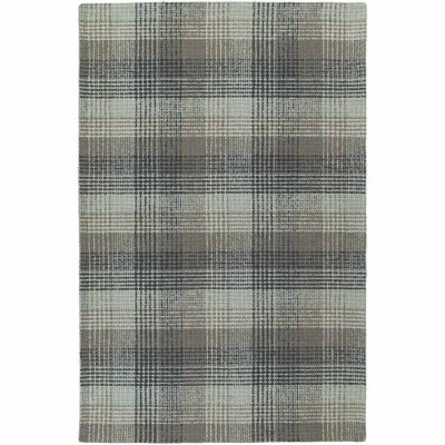 Kaleen Sartorial Scholar Hand-Tufted Wool Rectangular Rug