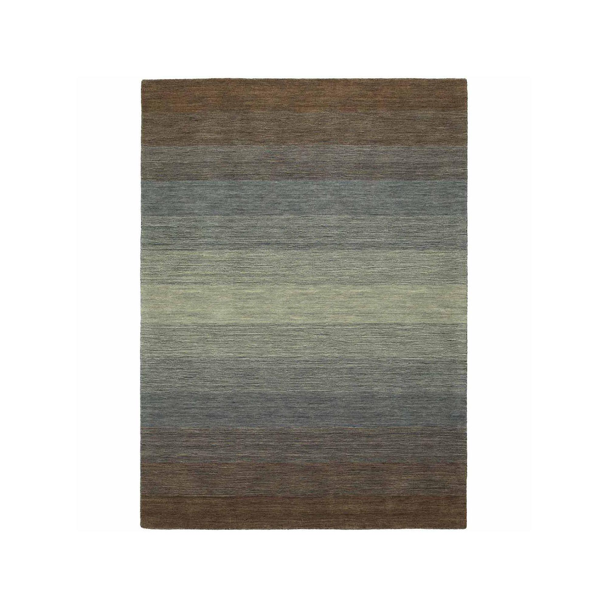 Kaleen Shades Ombre Wool Rectangular Area Rug