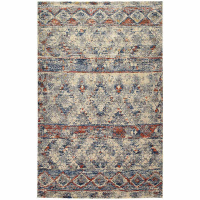 Kaleen Tiziano Global Ikat Rectangular Rug