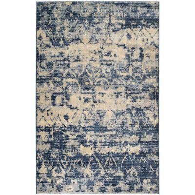Kaleen Tiziano Vintage Abstract Rectangular Rug