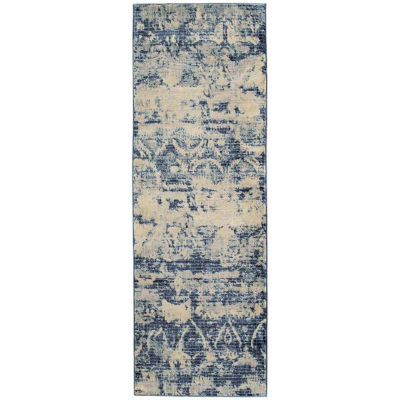 Kaleen Tiziano Vintage Abstract Rectangular Rug