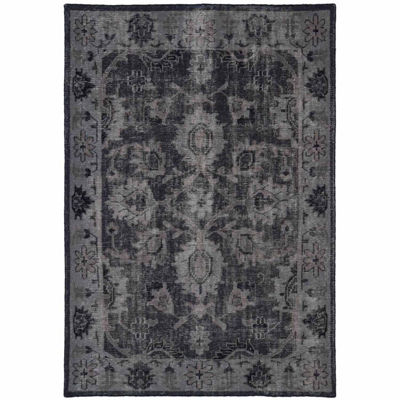 Kaleen Restoration Distressed Vintage Russell Rectangular Rug