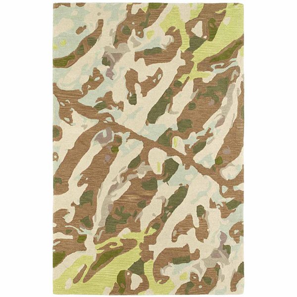 Kaleen Pastiche Abstract Rectangular Rug