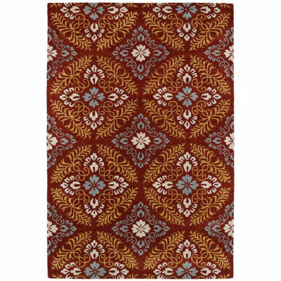 Kaleen Melange Ornate Rectangular Rug