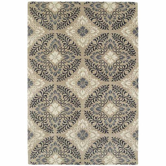 Kaleen Melange Ornate Rectangular Rug