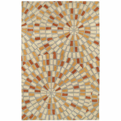 Kaleen Rosaic Kaylee Mosaic Rectangular Rug
