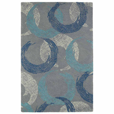 Kaleen Montage Abstract Rectangular Rug
