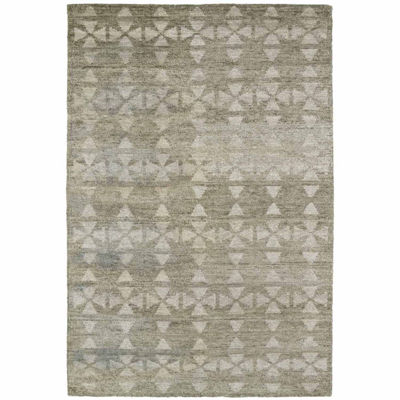 Kaleen Solitaire Gem Rectangular Rug
