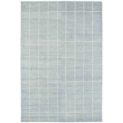 Kaleen Solitaire Glacier Landress Rectangular Rug