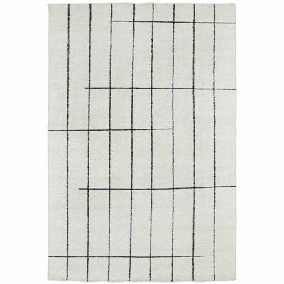 Kaleen Solitaire Landress Rectangular Rug