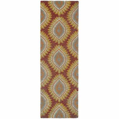 Kaleen Montage Damask Rectangular Rug