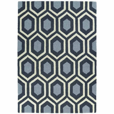 Kaleences Geo Rectangular Rug