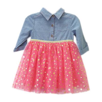 Lilt Long Sleeve Tutu Dress - Baby Girls