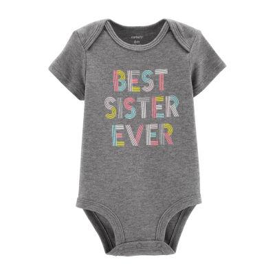 Carter's Sister Bodysuit Girls
