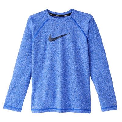Nike Boys Logo Rash Guard