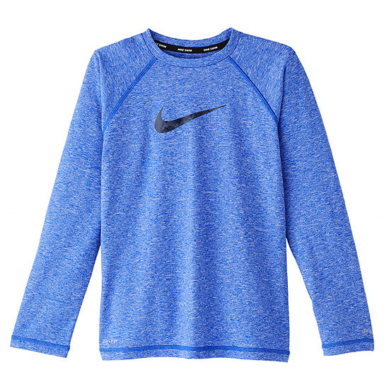 Nike Big Boys Logo Rash Guard