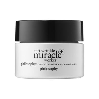 philosophy anti-wrinkle miracle worker+ line-correcting moisturizer