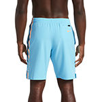 "Nike Retro Stripe 9"" Stretch Volley Swim Trunks"