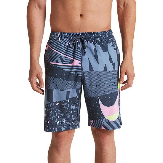"Nike Mash up Vital 9"" Stretch Volley Swim Trunks"