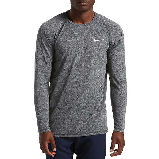 5ce5a14059 Nike Long Sleeve Hydro Heather Swim T-Shirts - JCPenney