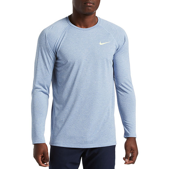 Nike Long Sleeve Hydro Heather Swim T-Shirts