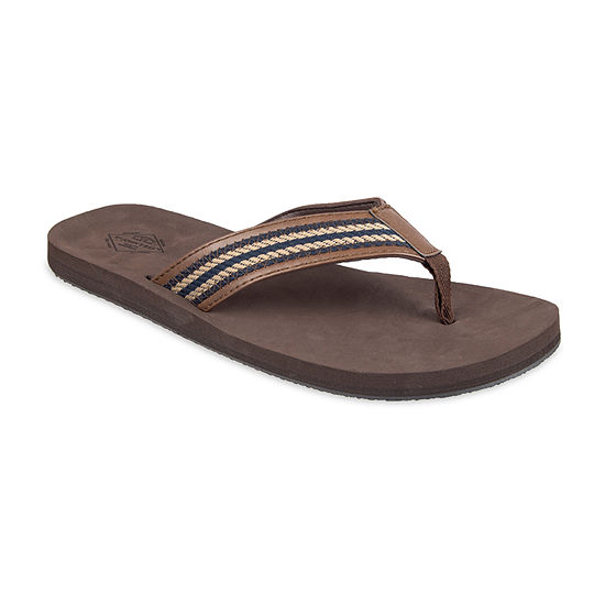 St. John's Bay™ Stitch Multicolored Strap Flip Flops